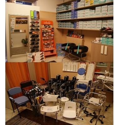 Ausili per disabili ed anziani - Noleggio Carrozzine - Linea Piede - Creme idratanti e sgonfianti -